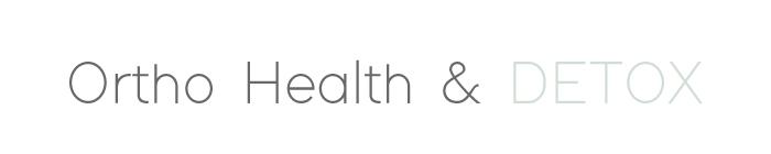 Ortho Health & Detox Logo
